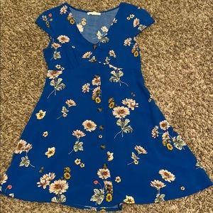 Aeropostal Button Up Dress